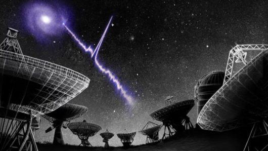 W zbieranych danych z radioteleskopu CHIME znaleziono sygnał FRB z galaktyki oddalonej o pół miliarda lat świetlnych, który powtarza się w cyklu 16-dniowym