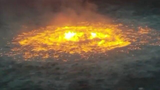 """""""Ogniste oko"""" na wodach Zatoki Meksykańskiej"""