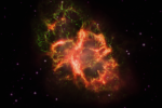 Z Mgławicy Kraba lecą w naszym kierunku wyjątkowo energetyczne fotony, których energia sięga 450 TeV (teraelektronowoltów)