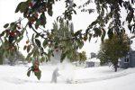 USA - Burza śnieżna w środkowych częściach kraju, zarejestrowano najszybszy w historii październikowy spadek temperatury, w 48 godzin temperatura spadła z +28°C do -7°C