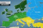 Amerykańska prognoza pogody na zimę w Europie