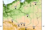 Polska - Sejsmometry na terenie kraju [OnLine]