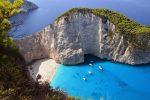 Grecja - Na wyspie Zakynthos osunął się klif [Video]