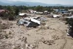 Petobo, Indonezja - Po trzęsieniu ziemi wystąpił geologiczny fenomen, niemal cała wioska została wessana pod ziemię