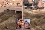 Jordania - Powódź błyskawiczna w starożytnym mieście Petra, zginęło 9 osób, to kolejne pustynne miasto z Afryki, które zostało zalane w ostatnich dniach