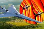 NASA udostępniła zdjęcia fal uderzeniowych dwóch lecących samolotów ponaddźwiękowych