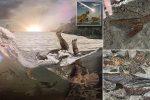 USA - Sensacyjne odkrycie w Północnej Dakocie, niezwykłe cmentarzysko ze szczątkami zwierząt i ryb w rejonie Hell Creek Formation, to mogą być pierwsze ofiary uderzenia planetoidy sprzed 66 milionów lat